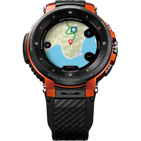 CASIO PRO TREK SMART WSD-F30-RGBAE Smartwatch Men black/orange/grey